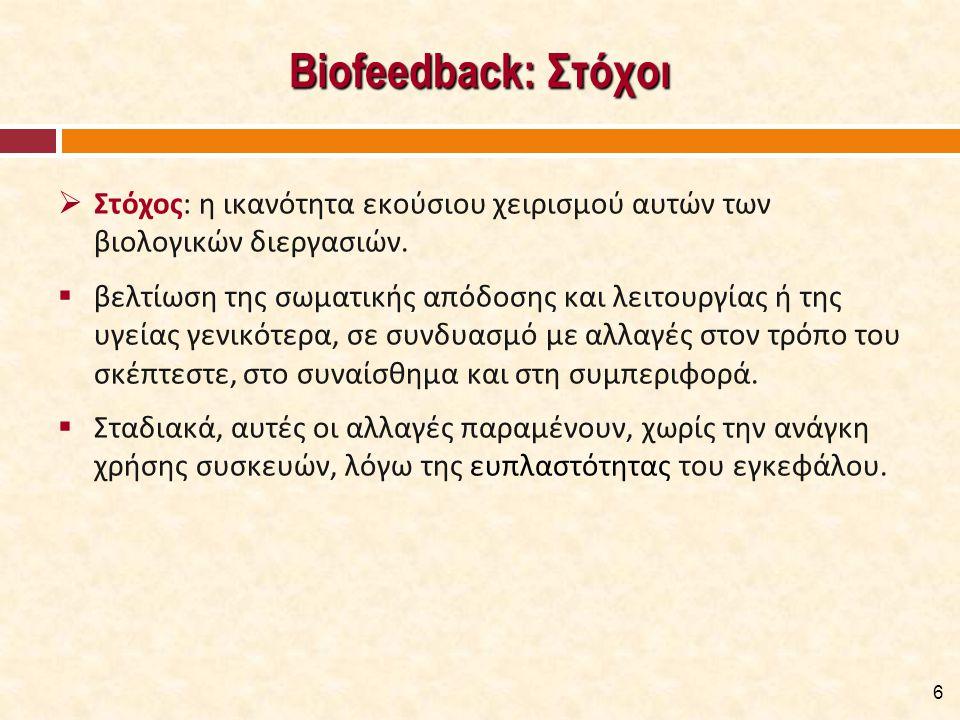 Βασικές Αρχές του BFD [1/2] Φυσιολογία της Περιοχής